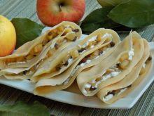 Cydrowe naleśniki z prażonymi jabłkami