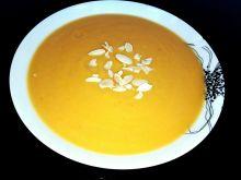 Cynamonowa zupa krem z batatów i pora
