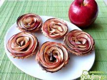 Cynamonowe babeczki z jabłkami