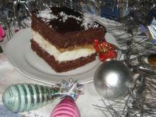 Cynamonowe ciasto z masą kajmakową