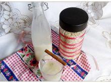 Cynamonowe mleko owsiane
