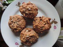 Cynamonowe muffinki ze słonecznikiem i jabłkiem