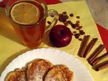 Cynamonowe placuszki z jabłkami