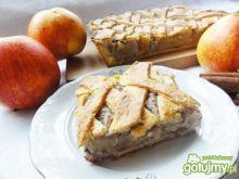 Cynamonowo- jabłkowa szarlotka domowa