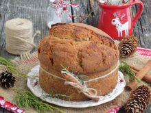Cynamonowo-pomarańczowe ciasto świąteczne