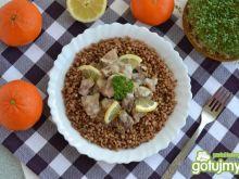 Cytrusowy gulasz wieprzowy