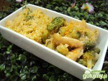 Cytrynowa pierś z kurczaka z brokułami