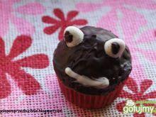 Cytrynowe babeczki czarne żabki