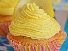 Cytrynowe babeczki z lemon curd