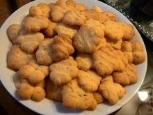 Cytrynowe ciasteczka z maszynki