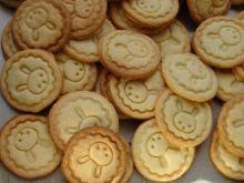 Cytrynowe kruche ciasteczka