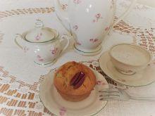 Cytrynowe muffinki z karmelem i orzechem pecan