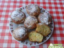Cytrynowe muffiny z ananasami