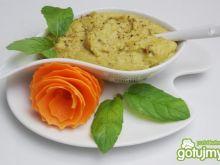 Cytrynowe puree z groszku