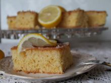 Cytrynowiec- pyszne  ciasto ucierane