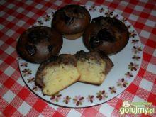 Cytrynowo czekoladowe muffiny z bananami