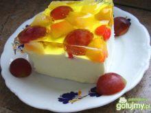 Cytrynowy sernik na zimno lekki jak mgie