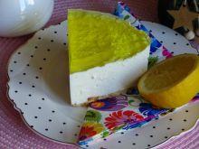 Cytrynowy sernik(bez pieczenia)