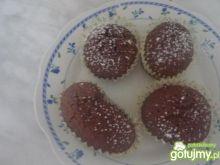 Czarne muffinki