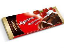 Czekolada jogurtowo-truskawkowa Wawel