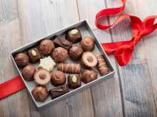 Święta z czekoladkami Mieszko