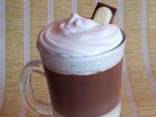 Czekoladowa galaretka w formie latte macchiato