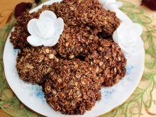 Czekoladowe ciasteczka z płatków owsianych
