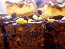 Czekoladowe ciasto orzechowe