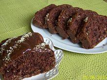 Czekoladowe ciasto otrębowe