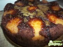 Czekoladowe ciasto z jabłkami wg Beatris