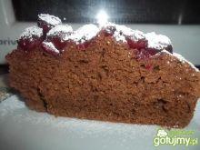 Czekoladowe ciasto z wiśniami 2