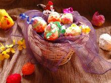 Czekoladowe jajeczka do wielkanocnego koszyczka