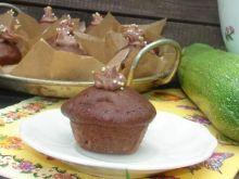 Czekoladowe mini babeczki z cukinią