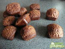 Czekoladowe mini muffiny z nutellą
