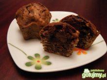 Czekoladowe muffinki z nutellą