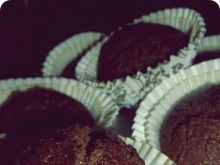 Czekoladowe muffiny (bez jajek)