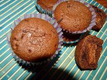 Czekoladowe muffiny z markizami