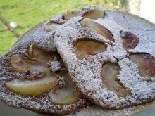 Czekoladowe placuszki z jabłkami