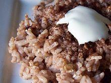 Czekoladowe risotto