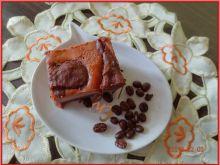 Czekoladowo-kawowy sernik w cieście z mąki żytniej