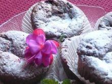 Czekoladowo- malinowe muffinki