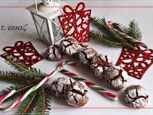 Czekoladowo-miętowe ciasteczka