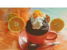 Czekoladowo- pomarańczowe ciastko w 5 minut