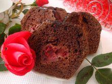 Czekoladowo-truskawkowe ciasto