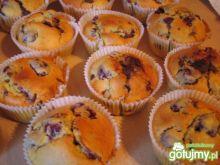 Czekoladowo wisniowe muffinki