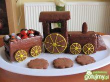 Czekoladowy pociąg jako alternatywy tort