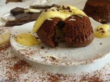 Czekoladowy pudding z imbirem