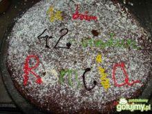 Czekoladowy torcik wg kasperki2