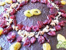 Czekoladowy tort rocznicowy