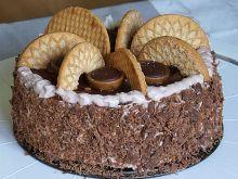 Czekoladowy tort Toffifee